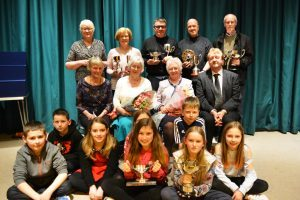 The prizewinners from this year's North Lorn Drama Festival