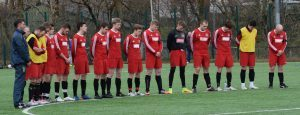 South Lochaber Thistle held a minute's silence in memory of David MacDonald before their match with Helensburgh. PICTURE IAIN FERGUSON, THE WRITE IMAGE. f10 SOUTH LOCHABER SILENCE 1no IF
