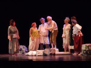 Seil Drama Group in All By Myself. Credit Robert Batty.