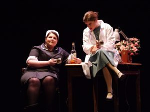 Benderloch and North Connel Drama Club in A Separate Peace by Tom Stoppard. Credit Robert Batty.