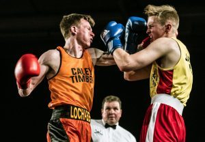 Graham Allison V Duncan Cameron. Picture Iain Ferguson The Write Image. F20 Boxing 2no JP