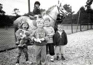 Last Thursday saw Arran Dial-a-Creches second Tots and Teds Big Day Out at Brodick Hall. Adding to the array of fun activities were groups of children enjoying pony rides.