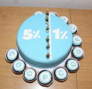 The special cake, made by 6th year student Emma Johnstone. 50_c49coop01_cake