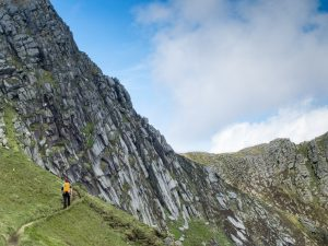 One of the walks which make up the Arran Mountain Festival.