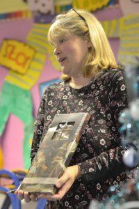 Gigha primary headteacher Julie Wilson.