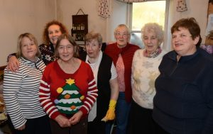 Some of the Mairi Semple volunteers from left were: Linda McLean, Margaret Sinclair, Pauline Simson, Jill Lines, Kathleen McGougan, Helen Steel and Elizabeth Young.