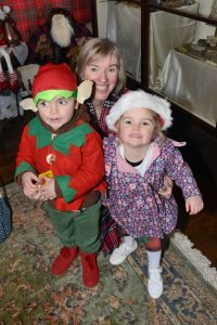Maggie Wilkieson with her grandson Finlay, 4 and granddaughter Robyn 3.