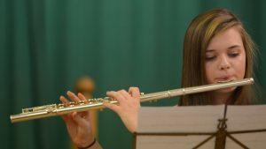 Flautist Erin Soudan.