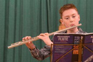 Flautist Liam Bennie.