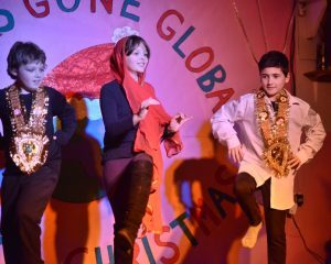Indian dancers.
