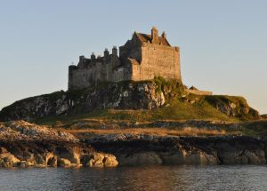 Duart Castle on the Sound of Mull.
