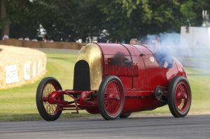 The fire-breathing Beast of Turin was set to roar in the grounds of the historic clan Campbell