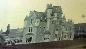Achamore house before the 1896 fire.