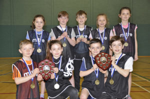 Rockfield primary ran out comfortable winners at the Active Schools' primary athletics competition. 16_T13_Athletics01