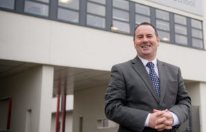 Lochaber High School head teacher Scott Steele, pictured, is confident, with the support of colleagues from across the council, that the school will be operational at the start of the new session. JP F11 Lochaber High School new Head teacher Scott Steele