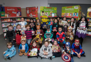 JP F11 World Book Day St Columba's