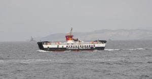 CalMac's Tarbert to Portavadie ferry was part of rescue mission which tried to save the Nancy Glen when it capsized.