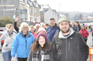 Proclaimers' fans started queuing outside the Corran Halls from 6am on Saturday waiting for the Box Office to open at 9am. 16_T16_proclaimers01-fans