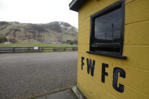 Fort William FC's Claggan Park ground. Photograph: Iain Ferguson, alba.photos IF F16 Fort FC 01