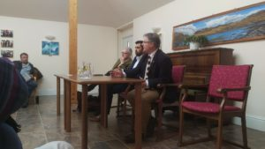 The meeting was held by Argyll and Bute's MP Brendan O'Hara, MSP Michael Russell, and Scotland's Minister for Transport and the Islands Humza Yousaf.