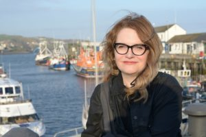 Dawnne McGeachy in Campbeltown during April.
