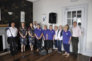 The Cancer Research Committee Oban Branch, with musicians Neil Angus, Rosie Stevenson and the Catalina Sisters, raised £322.