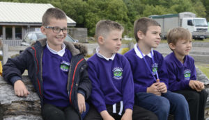 LOCHABER RURAL EDUCATION TRUST Pupls of Lundavra School listen intently to gardening instructions.. Picture iain Ferguson, alba.photos IF F26 LUNDAVRA GARDEN TIPS