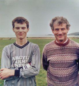 Colin and his dad, Kenny MacIntyre.