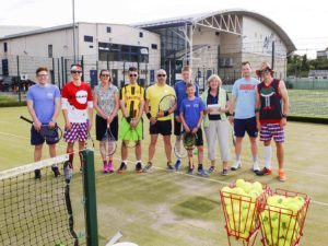 Target tennis at Atlantis Leisure last year