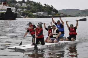 Rafty McRaftface, slickly crewed by Oban Distillery, returned to defend their title.