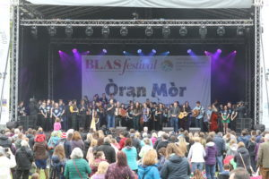 The Blas Festival came to a close with an outstanding display of Scotland's young musical talent in a largescale showcase, Òran Mòr, in Inverness.