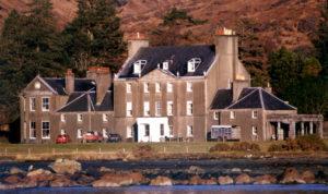 Lochbuie House, home of the Maclaine chiefs.Photograph: Iain Thornber