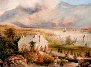 Pennyghael from a painting circa 1820 (Mrs Janet Glaisher)