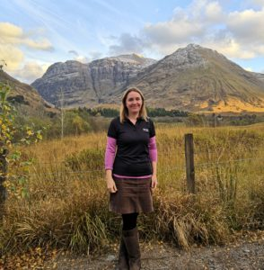 The newly-appointed Operations Manager is Emily Bryce. NO-F44-Emily-Bryce-Glencoe2.jpg