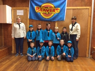 Oban's new Beaver Scouts received their certificates and badges. NO_T45_ObanBeavers-1