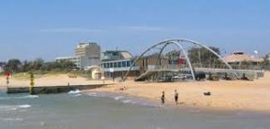 The beach at Frankston in Victoria, home to many families that emigrated from the Fort William area. Photograph: Travel Victoria/www.travelvictoria.co.au NO-F47-Frankson.jpeg