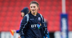 Former Lochaber player Helen Nelson was in action for Scotland against Italy on Friday night. NO-F06-Helen-Nelson.jpg
