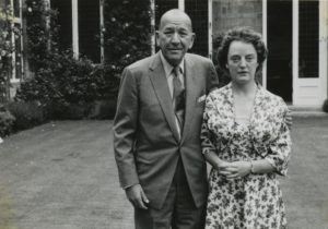Lorna MacEchern with Noel Coward circa 1961.