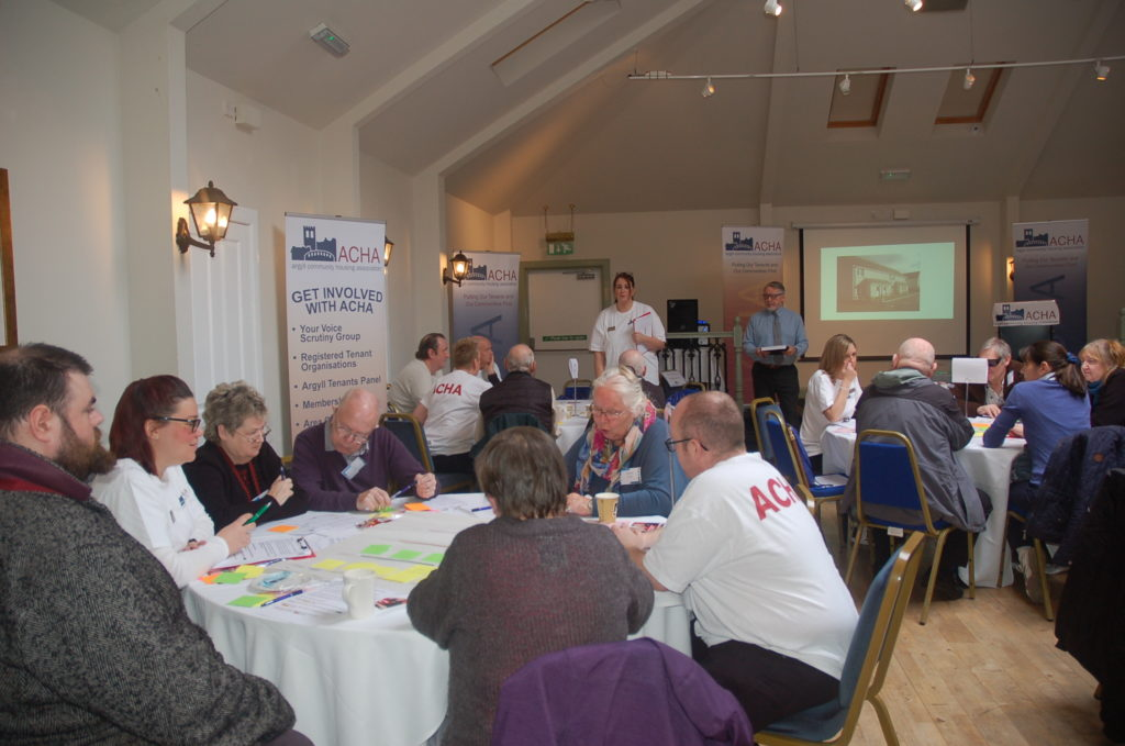 ACHA held its annual tenants' and members' conference in Inveraray. NO_T09_ACHA01