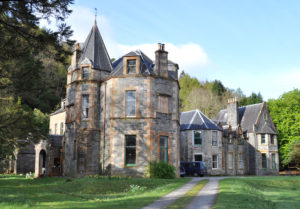 Inverailort Castle, home of the Cameron-Head family. Photograph: Iain Thornber