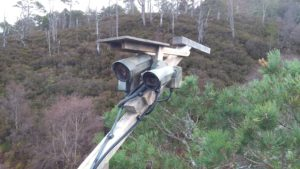 The Loch Arkaig back-up camera in position. NO F11 Osprey cam 01 Back up camera in position