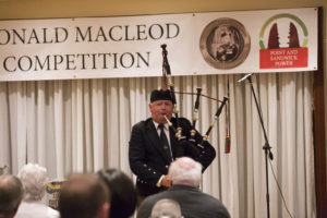 Roddy Macleod, playing at the 2018 PM Donald Macleod Memorial Competition. Picture: Sandie Maciver of SandiePhotos NO F12 Roddy_Macleod