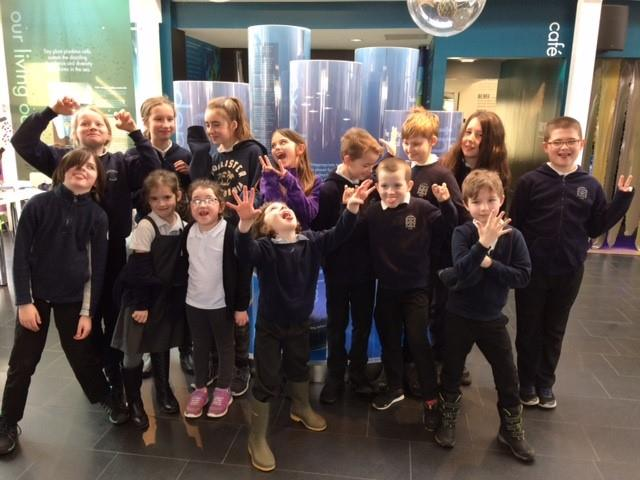 Pupils from Kilmartin Primary School visited the Ocean Explorers Centre in Dunbeg. NO_T11_OceanExplorerCentre01