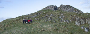 Leccamore Iron Age fort on Luing. NO_T11_luinghistorygroup02-LeccamoreFort