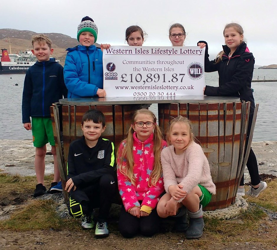 Barra benefited from more than £10,000 from the Western Isles Lottery. NO_T12_Barra01