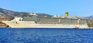 The Costa Mediterranea.