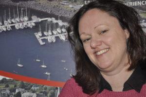 Tobermory Harbour's general manager Anne Fraser. 16-T19_Tobermforyharbourasocgeneralmanager