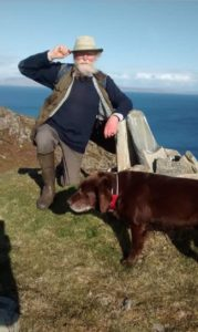 Kevin Byrne has raised £5,000 by bagging Colonsay's own versions of munroes called MacPhees.