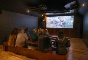 The cinema. NO F23 Glencoe Cinema