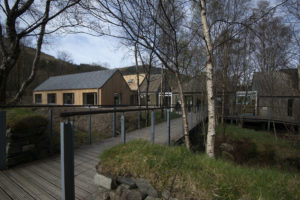 The new visitor centre at Glencoe was officially opened on Friday. NO F23 NTS Glencoe 01